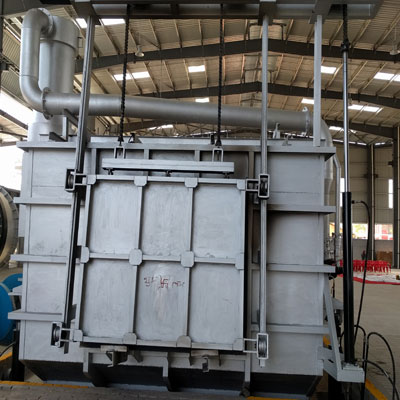 Hydraulic Tilting Aluminium Melting Skelner Furnace Suppliers